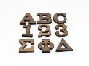 "1"" Peel and Stick Single Letters"