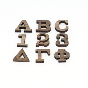 "3/4"" Peel and Stick Mini Letters"