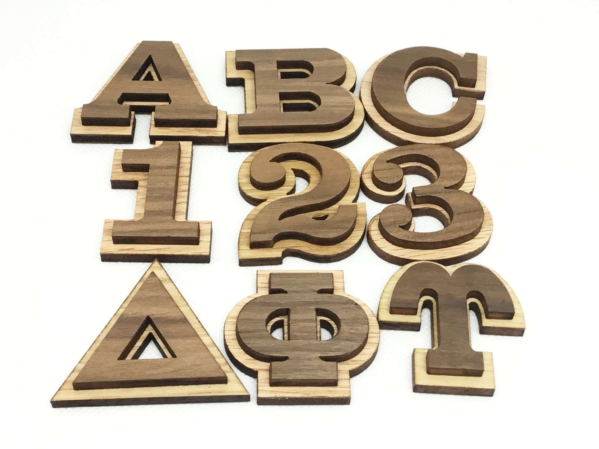 "1.5"" Peel and Stick Double Letters"