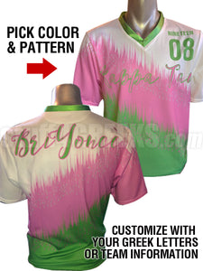 Custom Dye Sublimated Full-Color Soccer Jersey