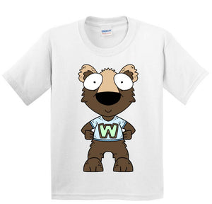 WACS Boy Wolverine Short Sleeve White T-Shirt