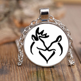 Buck and Doe Pendant Necklace