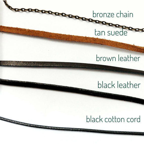 Brown  Arrowhead Necklace- Detail Setting