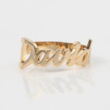 Personalized Fashion Ring Engraved Your Name