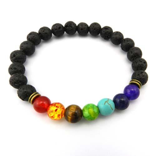 Buddha Prayer Natural Stone Yoga Bracelet