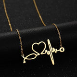 New Fashion Stainless Steel Infinity Love Necklace