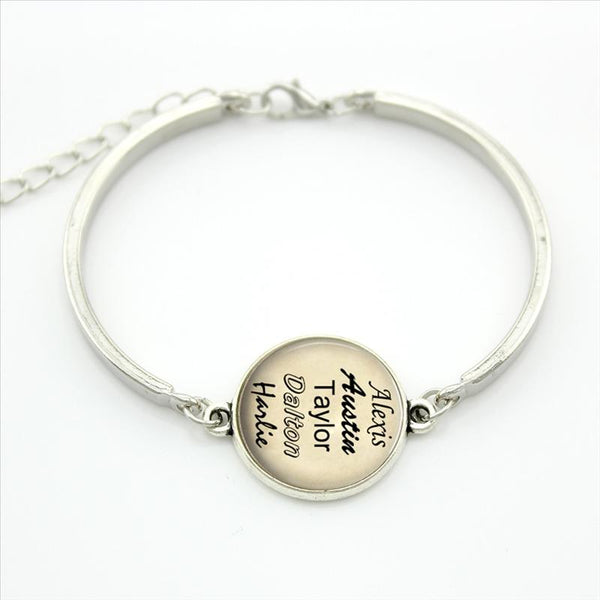 Family or Friends Names Bracelet