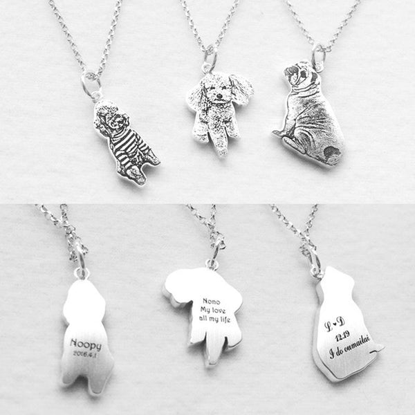 DIY Pet Pedant Necklaces 925 sterling silver