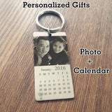 Personalized Photo & Name Keychain Calendar