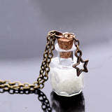 Magic Glow In The Dark Vintage Luminous Pendant Necklace