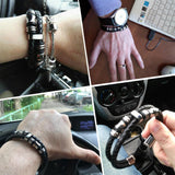 Leather Bracelets & Bangles Man Jewelry