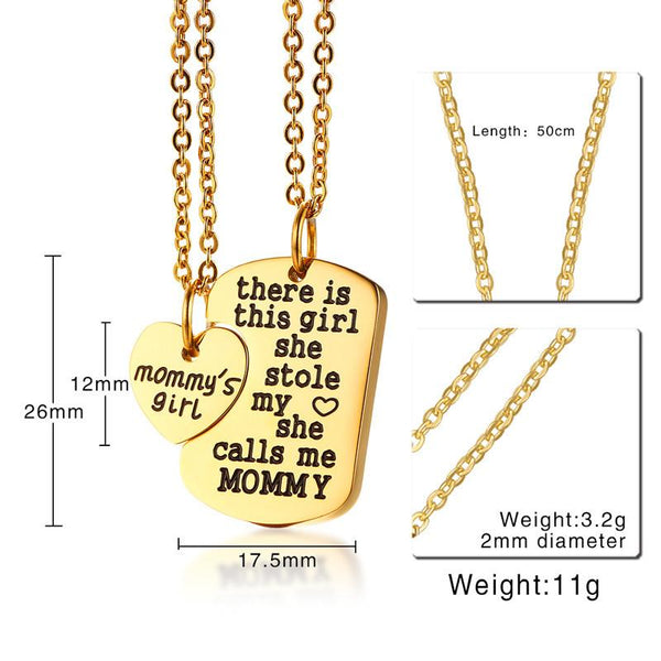 "Engraving Name Heart Pendant for Women Girl Necklace Dog Tag Stainless Steel Jewelry 20"" Chain"