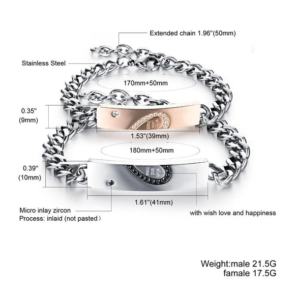 Best Gift For Lover Heart Bracelet