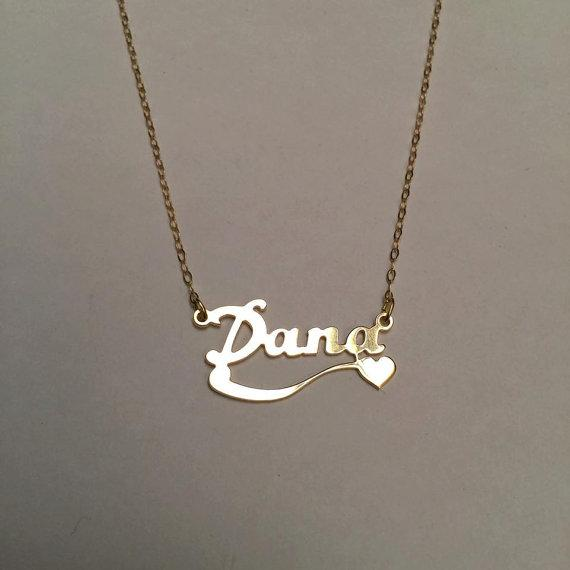 Customized Name Necklace Personalized Silver Gold Rose Choker Necklace