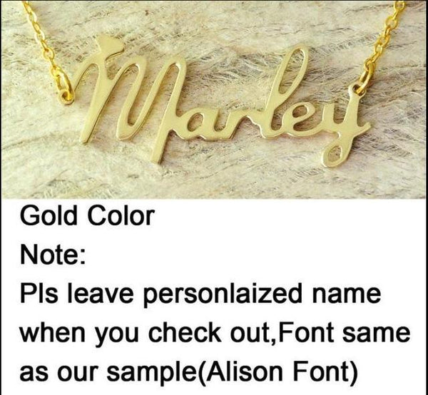 Custom Name Necklace Personalized Jewelry Name Necklace With Heart Valentines Day Gift for Her