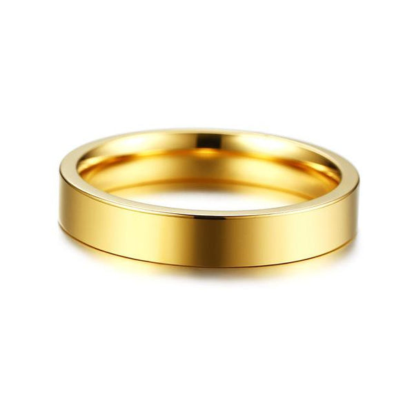 Engraving GPS Location Longitude and Latitude Info Wedding Bands Ring 3 Colors Stainless Steel