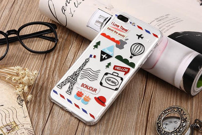 Iphone Case Travel Patches