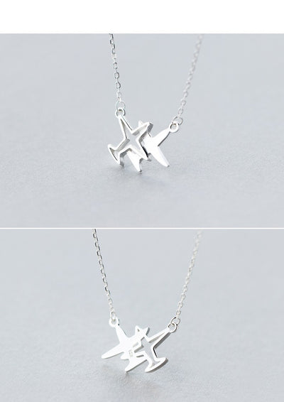 Traveller Silver Necklace