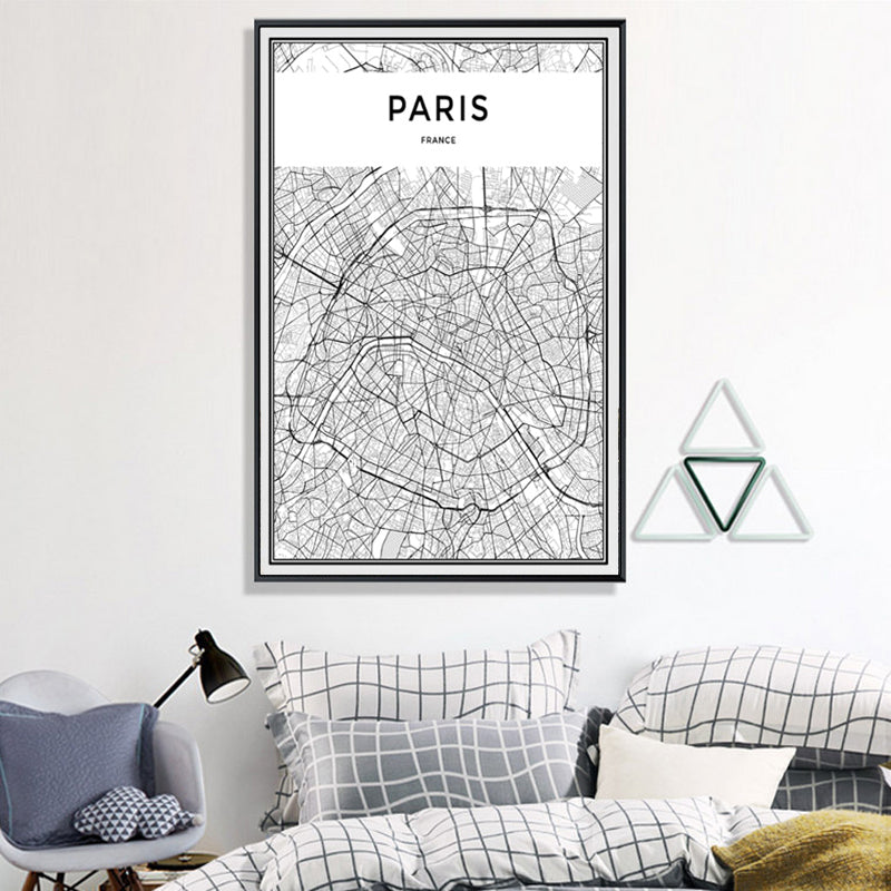 Minimalist PARIS Map