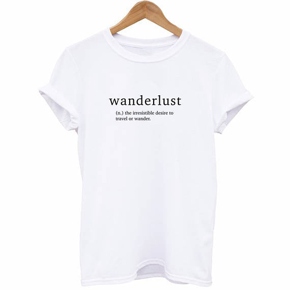 Wanderlust Definition Shirt