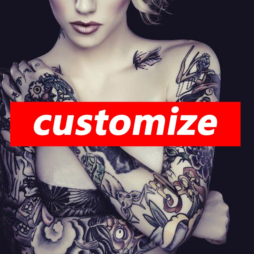 Customize your Temporary Tattoo - Jetlaglover