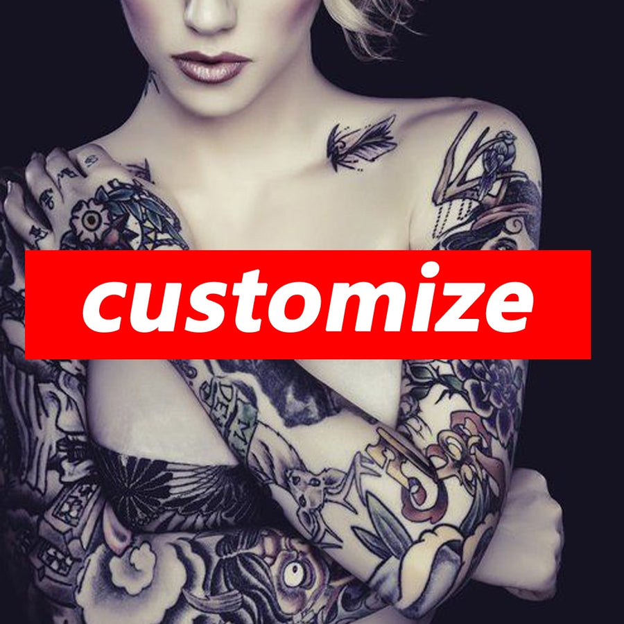 Customize your Temporary Tattoo