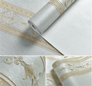 Beibehang Deep Embossed Wallpaper - Paruse