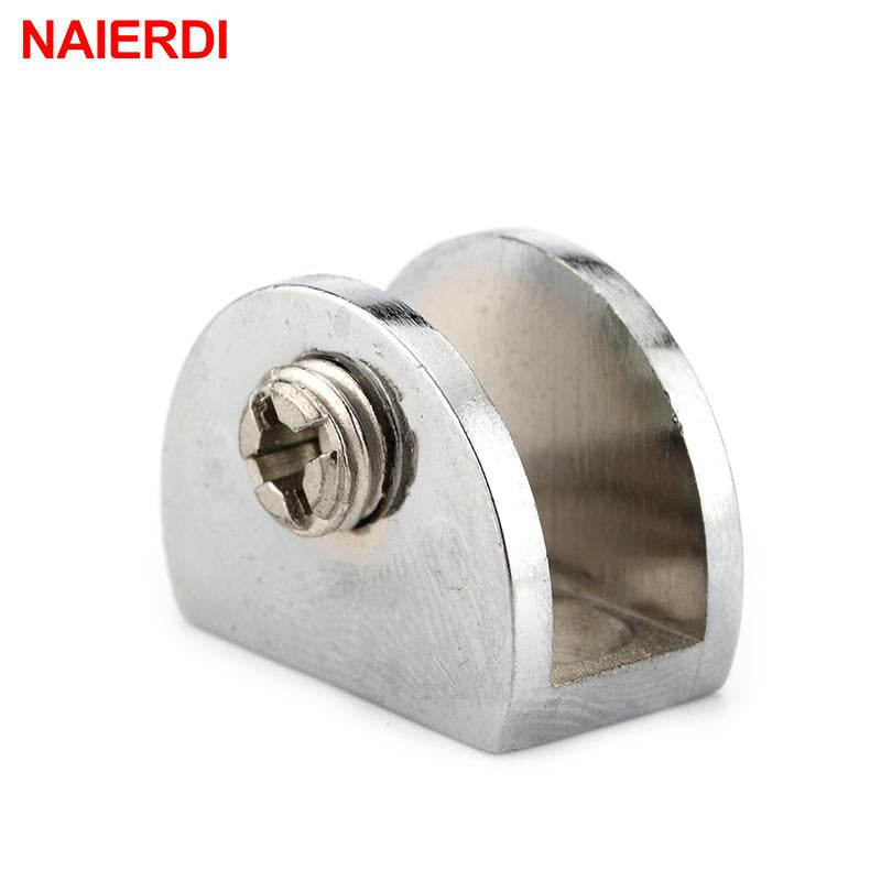 4PCS NAIERDI Half Round Glass Clamps - Paruse