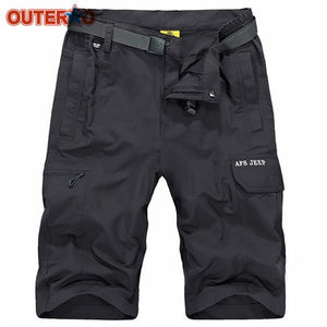 Mens Cargo Water-repellent Cycling Shorts - Paruse