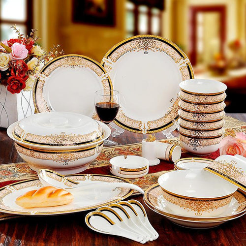 Bone China Dinnerware Set. - Paruse