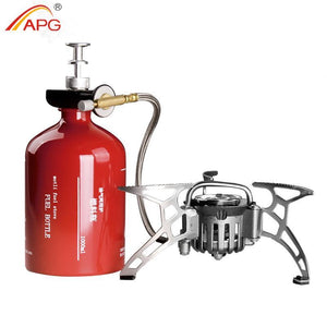 APG Portable Camping Stove Oil/Gas - Paruse