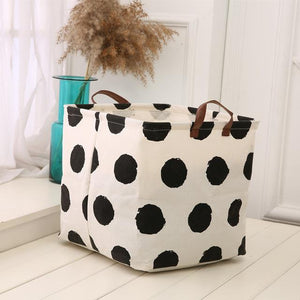 Cotton Clothes Storage Box - Paruse