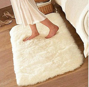 Luxury Rectangle Sheepskin Carpet - Paruse