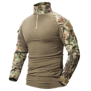 Zuoxiangru Gear Camouflage Army T-Shirt - Paruse