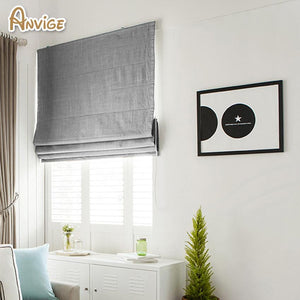 Modern Cotton/Linen Cloth Roman Blinds - Paruse