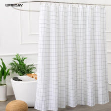 UFRIDAY White and Black Shower Curtain. - Paruse