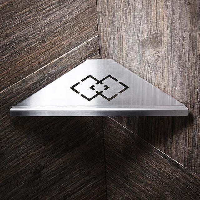 Wall Mount Stainless Steel Bathroom Shelves - Paruse