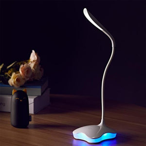 3 Level Dimmable Clover LED Sensor Desk Light. - Paruse