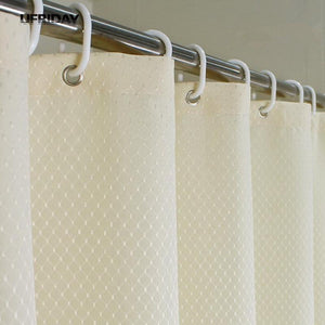 UFRIDAY Waffle Weave Shower Curtain. - Paruse