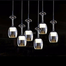 Modern LED Wine Glass  Pendant  Lighting. - Paruse