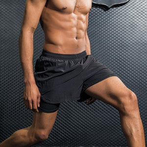 Mens Sports Gym Running Shorts - Paruse