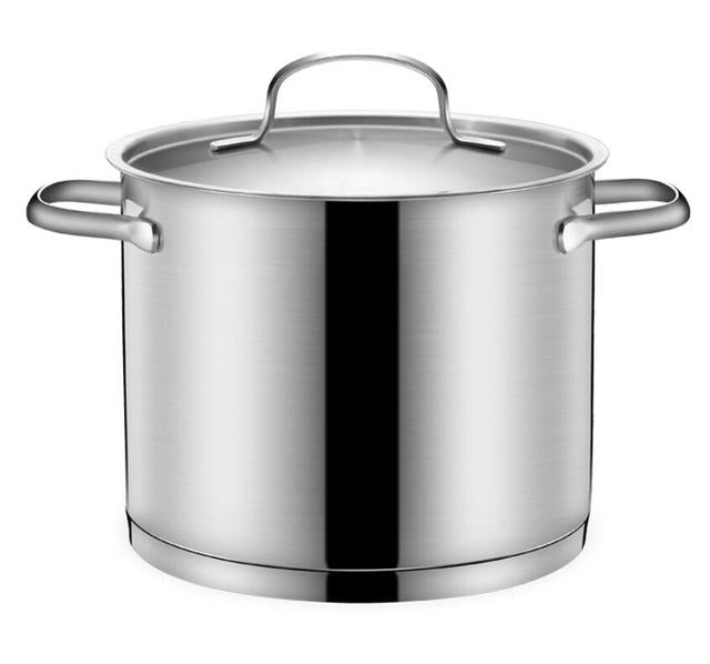 6 L Stainless Steel Soup Pot.