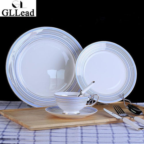 GLLead European Bone China Dinnerware set - Paruse