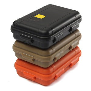 L/S Size Outdoor Plastic Waterproof Airtight Survival Case - Paruse