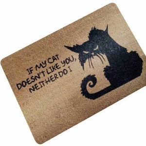 Cats Animal Print Entrance Doormat - Paruse