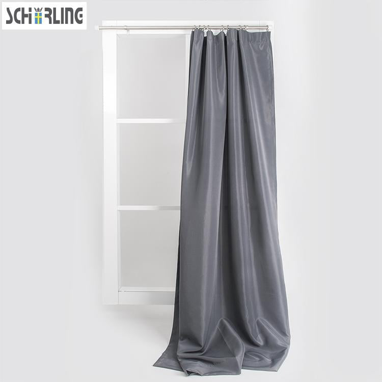 Solid Grey Color Curtains - Paruse