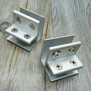 Aluminum Glass Clamp Support Brackets - Paruse