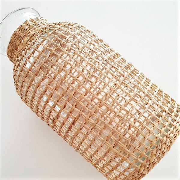 Leigh Woven Straw Vase