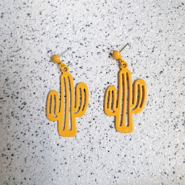 Cacti Earrings