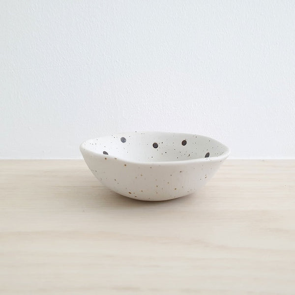 Keiko Polka Dots Petite Bowl, Plate - The Happy Beach